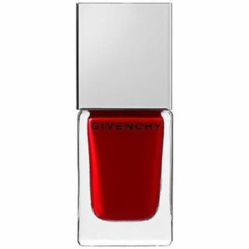 Le Vernis Intense Color Nail Lacquer Givenchy 0.3 Oz Grenat Initié 07 - Deep Warm Red