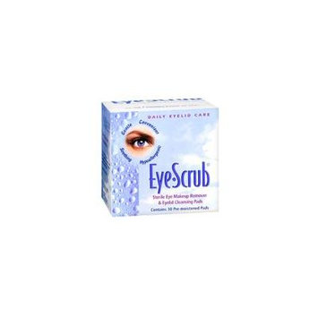 Eye-Scrub Eye Scrub Sterile Eye Makeup Remover And Eyelid Cleansing Pads, 30 each (Pack of 2)