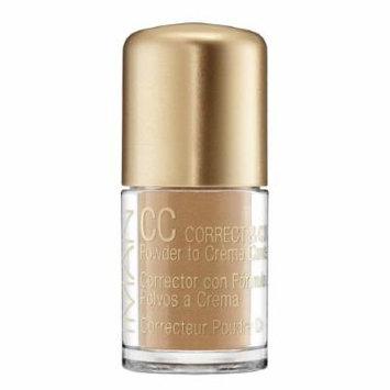 IMAN CC Correct & Cover Powder to Creme Concealer, Sand Medium 0.42 oz (4 g)