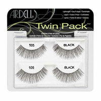 (6 Pack) ARDELL Twin Pack Lashes - 105 Black