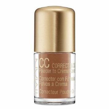 IMAN CC Correct & Cover Powder to Creme Concealer, Earth Medium 0.42 oz (4 g)