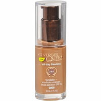 CoverGirl Queen Collection Queen Collection All Day Flawless Liquid Foundation , Sheer Espresso 1 oz