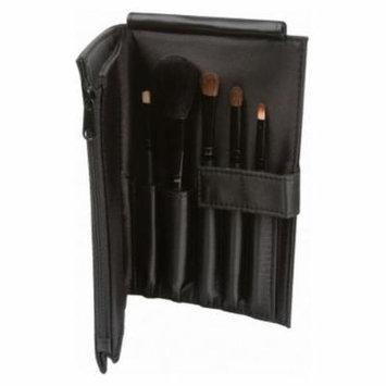 (3 Pack) LA GIRL Essential Makeup Brush Set - Black