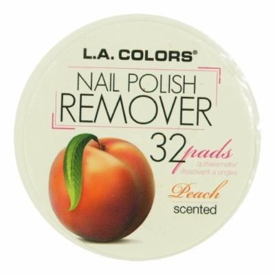 (6 Pack) LA COLORS Polish Remover Pads - Peach Scent (DC)