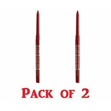 Milani Retractable Lip Liner Pencil, 17 Rose Pink (2 Pack)