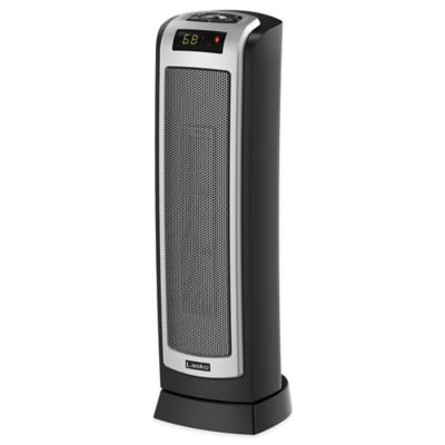 Lasko Ceramic Tower Heater with Remote Control and Oscillation