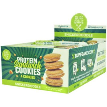 Buff Bake Sandwich Cookie - SNICKERDOODLE (8 Cookie(S)) by Buff Bake at the Vitamin Shoppe
