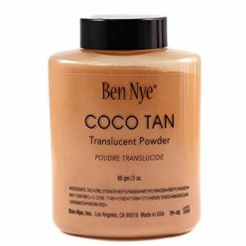 Translucent Powder Shaker Bottles 3.0oz Ben Nye Coco Tan