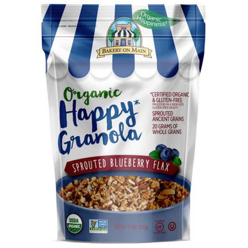 Bakery On Main Organic Granola, Sprouted Blueberry Flax, 11oz