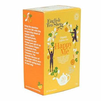 English Tea Shop Organic Caffeine Free Happy Me, 20 Sachet Tea Bags