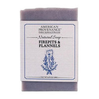 American Provenance 232440 4.75 oz Firepits & Flannels Bar Soap