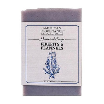 American Provenance 232440 4.75 oz Firepits & Flannels Bar Soap