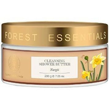 Forest Essentials Cleansing Shower Butter Nargis - 200 GM