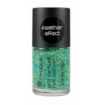 Invogue Pro Colour Nail Polish Feather Effect On The Money