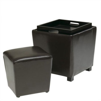 OSP Designs by Office Star Products 2-Piece Ottoman Set