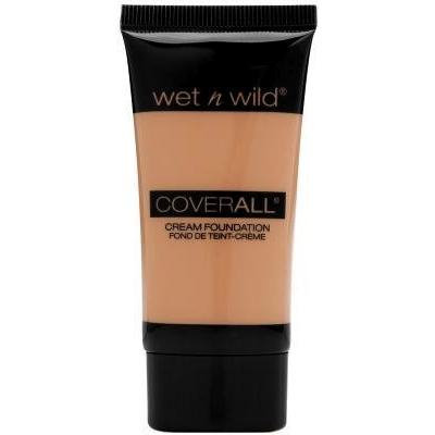 Wet N Wild Coverall Cream Foundation ~ Light/Medium 818 (Pack of 3)