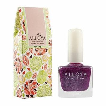 Alloya Natural Non-Toxic, Five-free, Vegan formula Nail Polish, Peel Off & floral scented, 073 Let's Tango