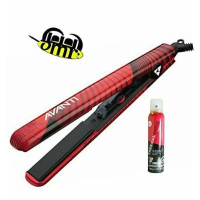 "Avanti 1"" Sensu Ultra Ceramic/Tourmaline Flat Iron PLUS Shine Spray"