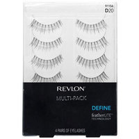 Pacific World Revlon Define Eyelashes Multi-Pack, 91156/D20, 4 pr