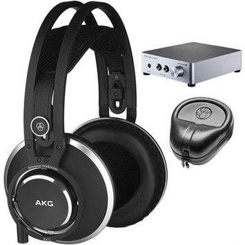 Akg. AKG Master Reference Closed-Back Studio Headphones K872 w/ A20 Amplifier Bundle