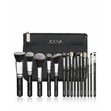 ZOEVA Brushes Makeup Cosmetics Brush Tool Complete Set set of 15 Pennelli Makeup brushes Face Eye Brushes Kit Blending Makeup Brushes set Complete Eye Set Bag