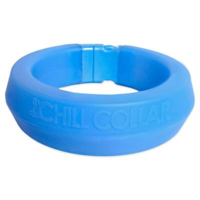 All Four Paws The Chill Collar in Blue