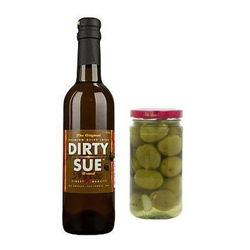 Dirty Sue Martini Mix 750ml and Martini Olives Combo Pack