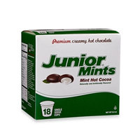 18-Count Junior Mints Mint Hot Cocoa for Single Serve Coffee Makers
