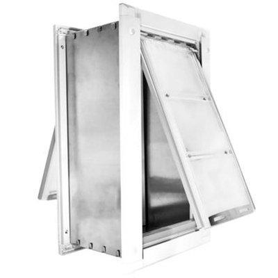 Endura Flap Pet Door - Extra Large Wall Mount [Options : Single Flap (12 x 23)]