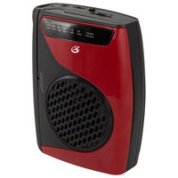 AM/FM Cassette Player/Recorder, Red/Black