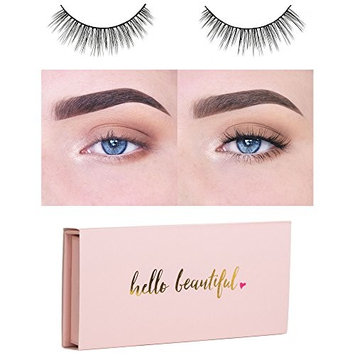 Icona Lashes Premium Quality False Eyelashes | Fairy Tale | Light and Dainty | Non-Magnetic | Natural Look and Feel | Reusable | 100% Handmade & Cruelty-Free | Bachelorette Packaging
