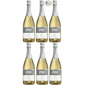 Sutter Home Fre Brut Non-alcoholic Champagne Wine Six Pack (Pack of 6)