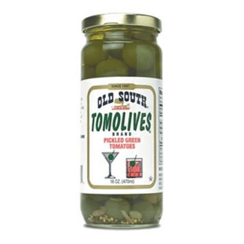 South Tomolives Pickled Green Tomatoes 16 oz