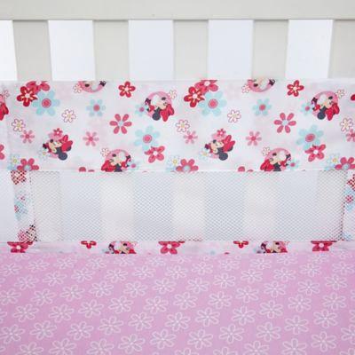 Disney Minnie's Garden Secure-Me Mesh Crib Liner