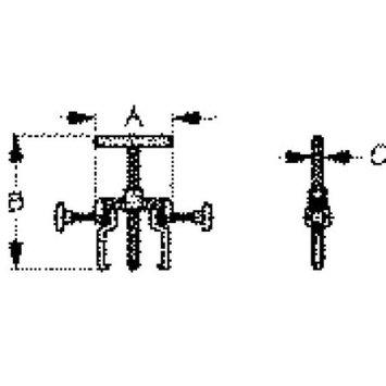 SeaDog 660020 Impeller Puller, 3-3/4