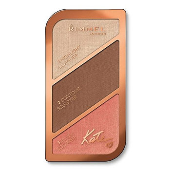 (6 Pack) RIMMEL LONDON Kate Sculpting Face Kit Golden Bronze : Beauty
