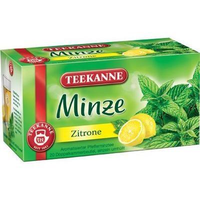 3x Teekanne (Minze Zitrone) mint citrus (each box 20 tea bags)