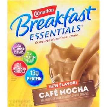 Carnation Breakfast Essentials Cafe Mocha Complete Nutritional Drink