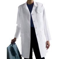 Medline Ladies Classic Staff Length Lab Coat Size 4