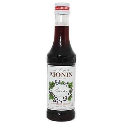 Monin - Cassis Blackcurrant Syrup - 250ml