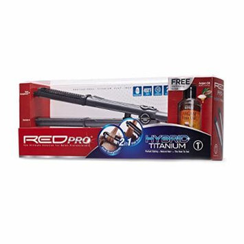 RED Kiss Hybrid Flat Iron, 1 Inch