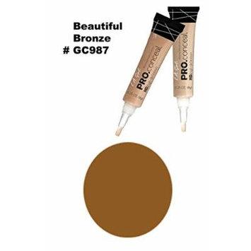 LA Girl Pro High Definition Concealer (6, GC 987 Beautiful Bronze)