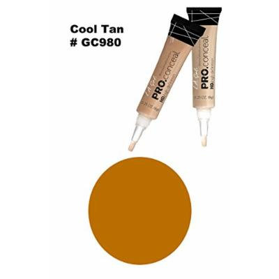 LA Girl Pro High Definition Concealer (6, GC 980 Cool Tan)