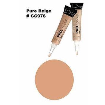 LA Girl Pro High Definition Concealer (6, GC 976 Pure Beige)