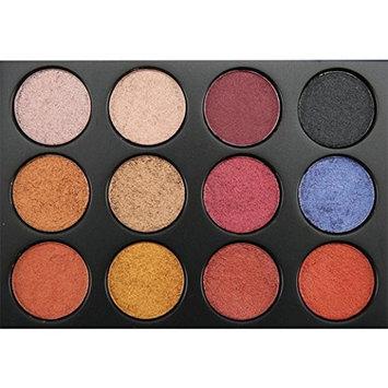 HP95 12 Colors Matte Eyeshadow Palette Pumpkin Color Eye Shadow Blush Powder Beauty Makeup