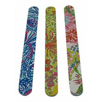 Lilly Pulitzer Bundle Nail Files Nosie Posey, My Fans, Happy Place 3 Count