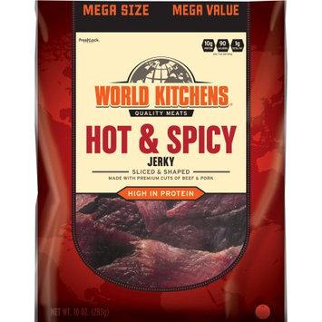 World Kitchens Hot & Spicy Jerky, 10 oz