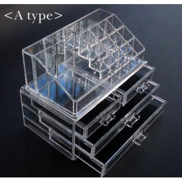 Beauty Acrylic Makeup Organizer Luxury Cosmetics Acrylic Clear Case Storage Insert Holder Box (1155)