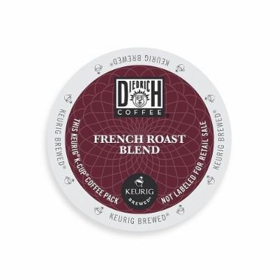 Diedrich Coffee K-Cup for Keurig Brewers, Dark Roast, French Roast, K-Cup packs, 48-Count
