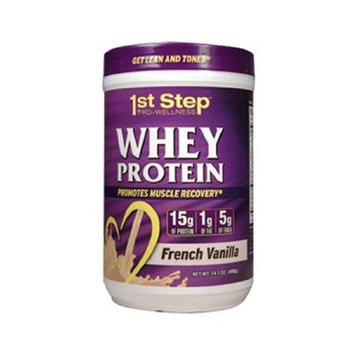 1st Step Pro-Wellness Whey Protein Dietary Supplement Powder
